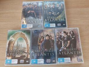 Stargate Atlantis Box Sets Seasons 1-5 COMPLETE SERIES