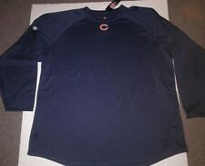 Chicago Bears Mens Navy Blue Pullover Fleece New Size 3Xl