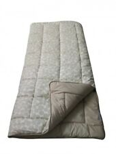 Sunncamp Beige and Cream Orb Super Deluxe King Size Sleeping Bag SB1517