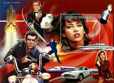 Madagascar, Cinema History, Very Nice Souvenir Sheet, Mhn, Perforated