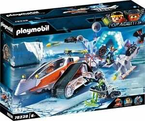 Playmobil Top Agents - 70230 Spy Team Kommandoschlitten - Neu & OVP
