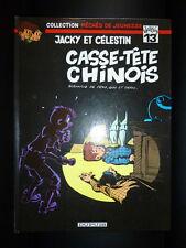 BD EO 1982 - DUPUIS - JACKY ET CELESTIN / TOME 13 CASSE TETE CHINOIS