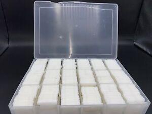 "At Least 900 Plastic Floss Bobbins For Cross Stitch Thread Holder Organizer 1.5"""