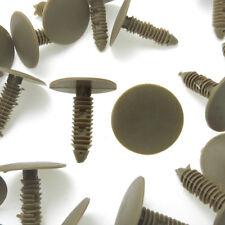 100x Fit 8mm Hole Dia Plastic Rivets Fastener Door Fender Bumper Push Pin Clips