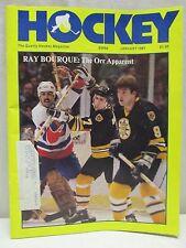 Vintage Hockey Magazine January 1981 Ray Bourque The Orr Apparent