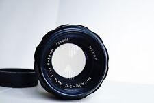Nikon Nikkor-S.C. 50mm f/1.4 Non-Ai Lens