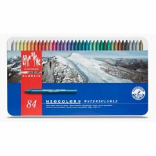 Caran d'Ache Classic Neocolor II Water-Soluble Pastels 84 Colors