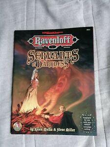 Advanced Dungeons & Dragons Gygax Ravenloft Servants of Darkness module Strahd