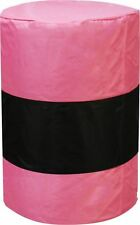 "Showman Pink 1200 D Nylon Barrel Cover 36""t x 21""w for Barrel Racing"