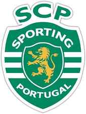 "Sporting FC Portugal Football Soccer Car Bumper Sticker Decal 4""X5"""
