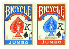 2 Decks Bicycle Poker Playing Cards Jumbo Index 808