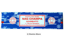 Nag Champa 100 Grams Box Original Satya Sai Baba Incense Sticks - FREE SHIPPING