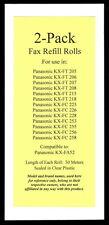 2-pack of KX-FA52 Fax Refills for Panasonic KX-FC225 KX-FC226 KX-FC228 KX-FC253
