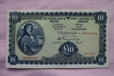 More details for central bank of ireland ten £10 pound banknote 39d882991 10.2.75 not tooo bad!