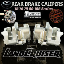 2 Rear Disc Brake Calipers Landcruiser 75 78 79 Series FZJ75 HZJ75 HZJ78 HZJ79