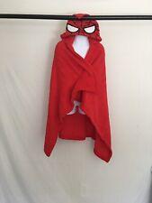 Spider-man Red Toddler one size fleece hooded blanket Marvel