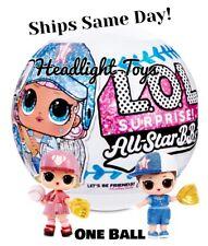 1 Ball LOL Surprise All Star BBs Big Sister Doll Baseball Team Sport In Hand