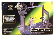"""1997 Kenner Star Wars DEATH STAR ESCAPE mini playset for 4"""" figures boxed & new"""