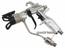 Airless Spray Gun, 4500PSI w/517 tip, tip guard.Air-assisted for fine finish