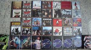 ROLLING STONES - 26 CDs + DVDs + Boxen - Riesensammlung