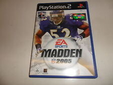 PlayStation 2 PS 2 madden nfl 2005