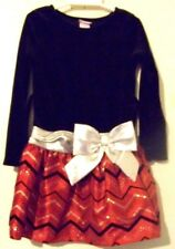 Youngland Girls Christmas Dress Size 5 EUC!!!