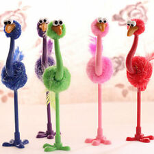Kawaii Ostrich Ballpoint Pen Birthday Gift School Stationery Supply Writing Tool