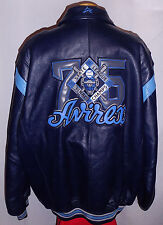 "AVIREX ""ALL STAR CHAMPS"" NEW YORK "" LEATHER Jacket/Coat**4XL***$750***99% NEWBIE"