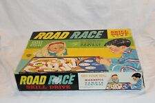 Vintage Road Race Skill Drive Game Tarco Qualitoy  Board Game