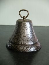 More details for mid 20th century ironmongers white metal and brass shop counter hand bell