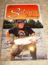 River Salmon Fishing by Bill Stinson - 1986 paperback