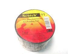 "NEW ..  Scotch 77 3M Fire Retardant Electric Arc Proofing Tape 3"" X 20' .. UO-36"