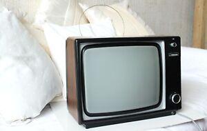 Ferguson Retro Vintage Television B&W Black White TV 1960, 1970 1980 Model 3840