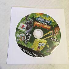 SpongeBob SquarePants, Nicktoons: Globs of Doom PlayStation 2, Ps2, Disc only