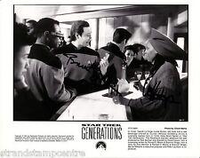 "Data & Guinan B&W 10""x 8"" Signed Star Trek Generations Promo Print - UACC RD223"