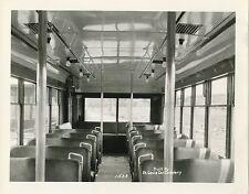6CC800M 1940s? CHICAGO SURFACE LINES INTERIOR - BUS