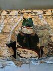 Yuengling Beer Pottsville Pennsylvania 3D Look Blanket Fringed Throw Vintage
