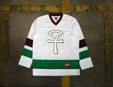 Supreme Ankh Hockey Jersey - NWT - White - Sz. L - Hypebeast - NYC - Mighty Duck