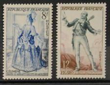 1953 FRANCE TIMBRE Y & T N° 956/957 Neufs * * SANS CHARNIERE