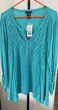 Rxb Xxl Womens Long Sleeve 2xl Top Shirt Nwt