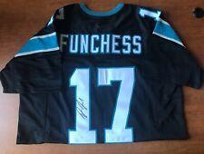 Autographed/Signed DEVIN FUNCHESS Carolina BLACK Football Jersey JSA COA Auto