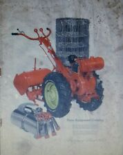 Montgomery Ward 1952 Farm Catalog FULL COLOR Garden Tractor 140pg Tool Chain Saw