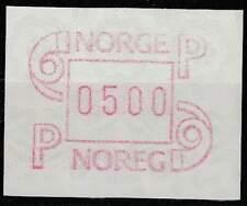 Noorwegen postfris automaatzegels 1986 MNH A3 (01)