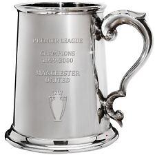 Premier League Champions Manchester United 1999-2000, 1pt Pewter Tankard