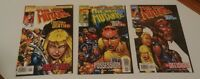 New Mutants: Truth or Death #1-3 1997/1998 FN- Complete Run Series Magik MARVEL