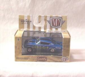 KKar M2/Castline - 2020 Gassers - 1966 Dodge Charger  - Blue - Quick Draw