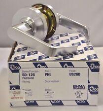 "PDQ Commercial Lockset SD-126 PHL PASSAGE 2 3/4"" BACKSET ASA STRIKE SCHLAGE 26D"