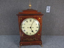 F. Simpson , London Bracket clock Fusee Movement