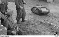 German Army Troops Russia Kowel Goliath 1944 World War 2 Reprint Photo 6x4 Inch
