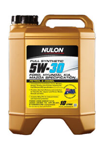 Nulon Full Synthetic Engine Oil Fuel Efficient 5W-30 10L fits Ford Ranger 2.2...